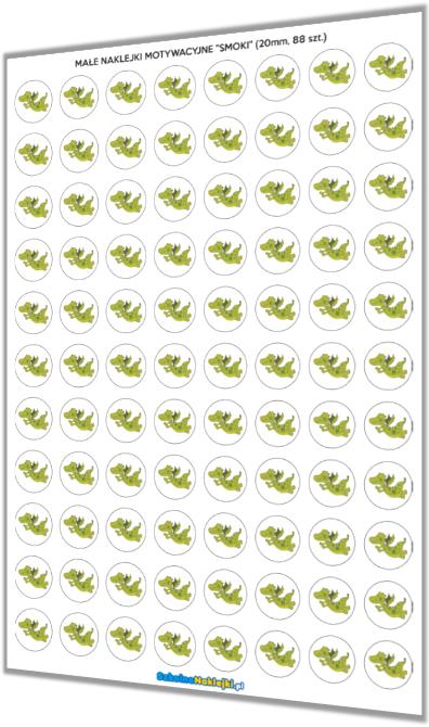 naklejki motywacyjne żabki